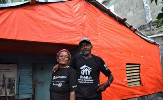Luz y su familia mejoran sus condiciones de vida