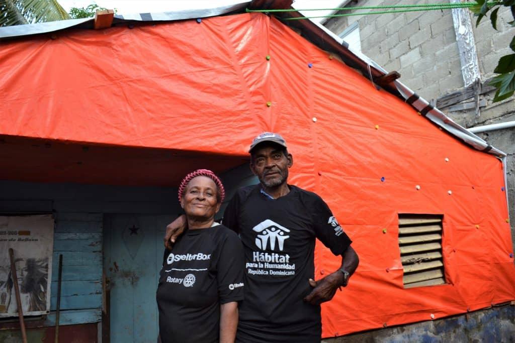 Luz y su familia mejoran sus condiciones de vida luego del Huracan Irma y Maria junto a nuestro aliado Shelter Box