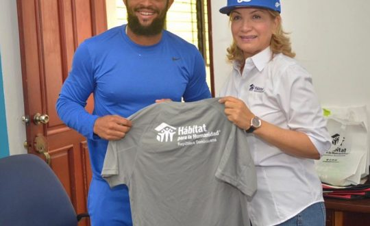 Licey and Habitat Dominican together for Josefina´s family