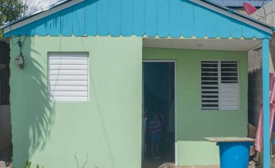 Habitat Dominican serves families after the hurricanes