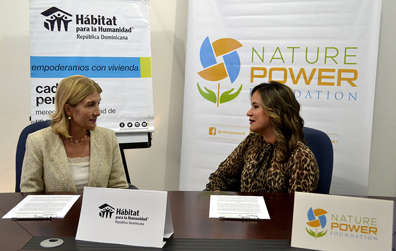 Nature Power Foundation y Hábitat para la Humanidad República Dominicana