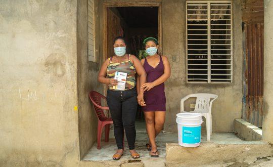 Hábitat Dominicana beneficia a 5.700 familias en condición vulnerable frente a la pandemia